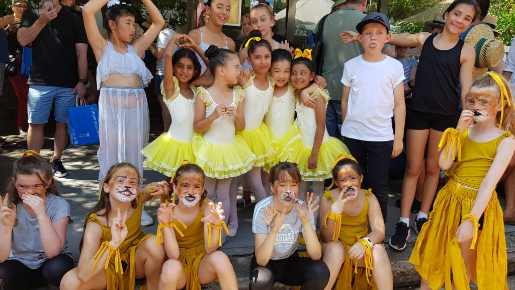 SDR Dance Students