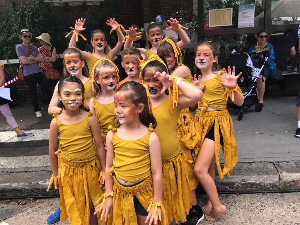 Recreational Performance Dance Kids