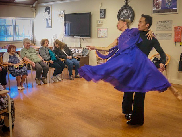 Ballroom Dance Performance Nursing Home
